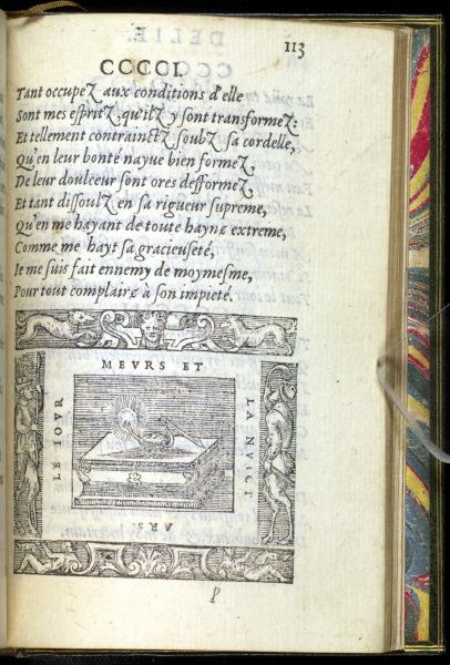 p113. Delie. La Lampe sur la Table
