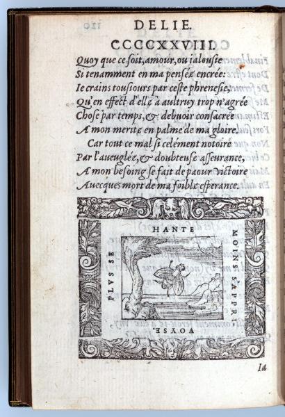 p120. Delie. La Mousche