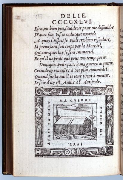 p125. Delie. Le Tombeau et les Chandeliers