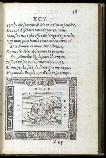 p028. Délie. Le Phénix