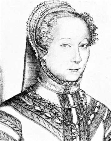 Portrait de Louise Labé